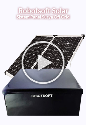 robotsoft solar - sistem panel surya off grid