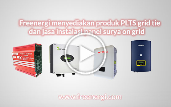 sistem panel surya on grid